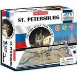 4D Cityscape The City of ST. Petersburg 1245 Pieces