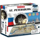 4D Jigsaw Puzzles 4D Cityscape The City of ST. Petersburg 1245 Pieces