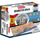 4D Jigsaw Puzzles 4D Cityscape The City of Barcelona 1100 Pieces