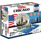 4D Jigsaw Puzzles on sale 4D Cityscape The City of Chicago 950 Pieces