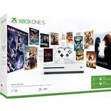 Xbox One Game Consoles Deals Microsoft Xbox One S 1TB - Starter Bundle
