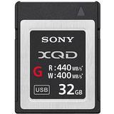 Memory Cards & USB Flash Drives Sony XQD G 440/400MB/s 32GB