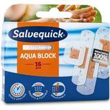 Plasters Salvequick Aqua Block 16-pack