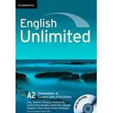 Elementary dvd Books English Unlimited Elementary A Combo with DVD-ROMs (2)
