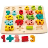 Knob Puzzles Hape Chunky Number 23 Pieces