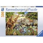 Ravensburger Animals at the Waterhole 500 Pieces