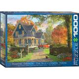 Classic Jigsaw Puzzles Eurographics The Blue Country House 1000 Pieces