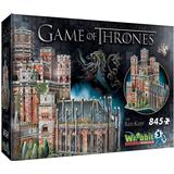 3D-Jigsaw Puzzles Wrebbit Game of Thrones The Red Keep 845 Pieces