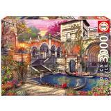Jigsaw Puzzles Educa Venice Courtship 3000 Pieces