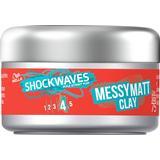 Hair Wax Wella Shockwaves Messy Matt Clay 75ml