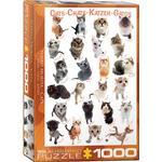 Eurographics Cats 1000 Pieces
