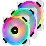 Fans Corsair LL120 Dual Light Loop White LED RGB 120mm Three Pack