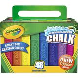 Sidewalk Chalk Crayola Sidewalk Chalk 48 Count