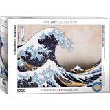 Eurographics Great Wave of Kanagawa 1000 Pieces