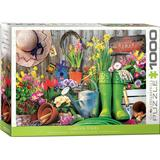 Classic Jigsaw Puzzles Eurographics Garden Tools 1000 Pieces
