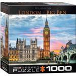 Eurographics London Big Ben 1000 Pieces
