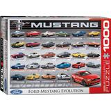 Classic Jigsaw Puzzles Eurographics Ford Mustang Evolution 1000 Pieces