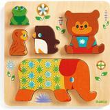 Jigsaw Puzzles Djeco Woodypile 5 Pieces