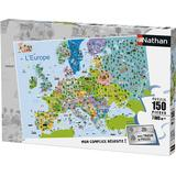 Classic Jigsaw Puzzles NATHAN Europe 150 Pieces
