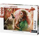 Classic Jigsaw Puzzles NATHAN Full Moon 1000 Pieces