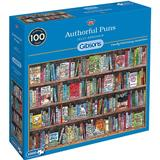 Classic Jigsaw Puzzles Gibsons Authorful Puns 1000 Pieces