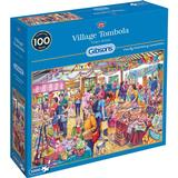Classic Jigsaw Puzzles Gibsons Village Tombola 1000 Pieces