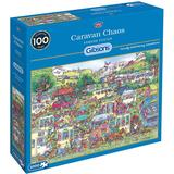Classic Jigsaw Puzzles Gibsons Caravan Chaos 1000 Pieces