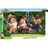 Classic Jigsaw Puzzles NATHAN Monchhichi 15 Pieces