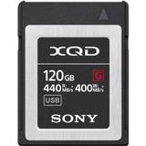 Memory Cards & USB Flash Drives Sony XQD G 440/400MB/s 120GB