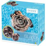 Inflatable Mattress Intex Pug Face Island