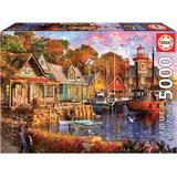 Classic Jigsaw Puzzles Educa The Harbour Evening 5000 Pieces