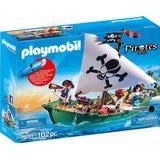 Playmobil pirate Toys Playmobil Pirate Ship with Underwater Motor 70151