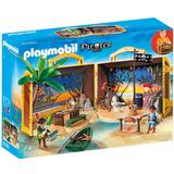 Playmobil pirate Play Set Playmobil Take Along Pirate Island 70150