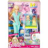 Play Set Barbie Baby Doctor Playset
