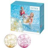 Beach Ball Intex Transparent Glitter Beach Balls
