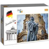 Grafika Deutschland Edition - Frauenkirche Martin Luther Dresden 100 Pieces