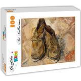 Jigsaw Puzzles Grafika Van Gogh Shoes 1888 100 Pieces