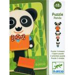Djeco Panda 6 Pieces