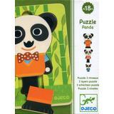 Djeco Panda 6 Pieces