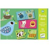 Knob Puzzles Djeco Habitats 10 Pieces