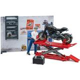 Play Set Accessories Bruder Bworld Motorcycle Service 62101