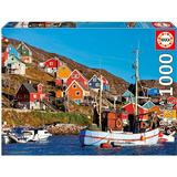 Classic Jigsaw Puzzles Educa Nordic Houses 1000 Pieces