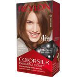 Permanent Hair Colour Revlon ColorSilk Beautiful Color #51 Light Brown