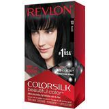 Permanent Hair Colour Revlon ColorSilk Beautiful Color #10 Black