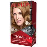 Permanent Hair Colour Revlon ColorSilk Beautiful Color #57 Lightest Golden Brown
