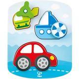 Knob Puzzles Hape Dynamic Vehicle 8 Pieces
