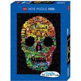 Heye Doodle Skull 1000 Pieces