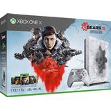 Xbox One Game Consoles Deals Microsoft Xbox One X 1TB - Gears 5 Limited Edition Bundle