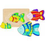 Jigsaw Puzzles Goki Fish 11 Pieces