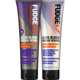 Shampoo Fudge Clean Blonde Damage Rewind Toning Violet Duo 2x250ml